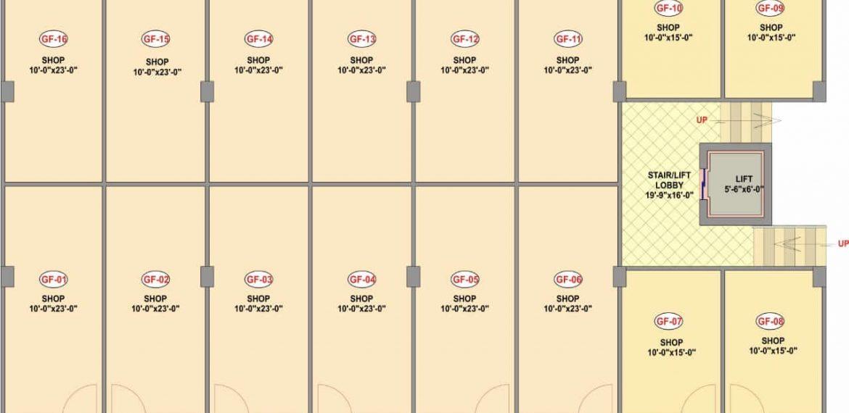 Friends-Arcade-5 Ground Floor Plan