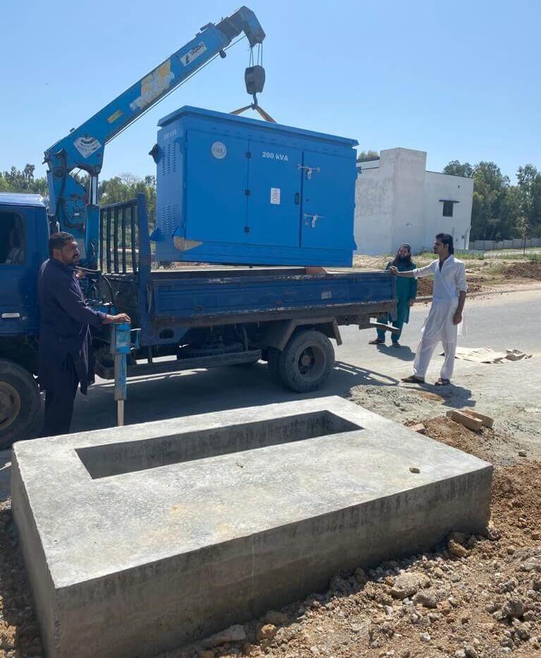 Main-electric-Distribution-box-fixing
