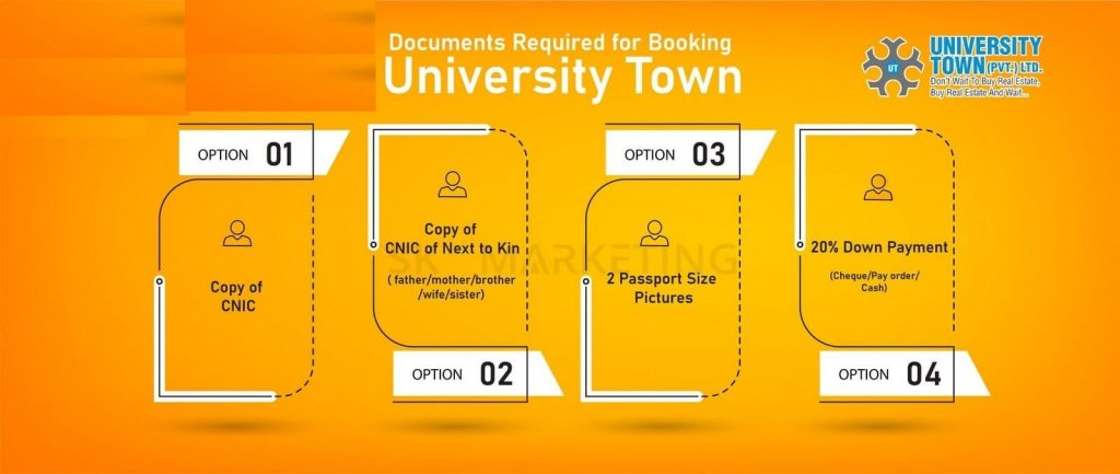 University-town-islamabad-Booking-Procedure